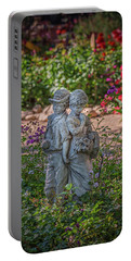 Garden Lovers Portable Battery Charger by David Cote