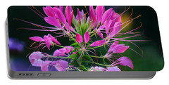 Portable Battery Charger featuring the photograph Garden Magic by Rodney Campbell