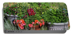 Garden Of Flowers Portable Battery Charger