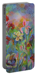 Garden Of Intention - Triptych Center Panel Portable Battery Charger