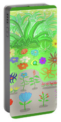 Garden Of Memories Portable Battery Charger by Fred Jinkins