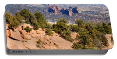 Garden Of The Gods And Springs West Side Portable Battery Charger