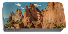 Portable Battery Charger featuring the photograph Garden Of The Gods by Bill Gallagher