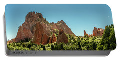 Portable Battery Charger featuring the photograph Garden Of The Gods II by Bill Gallagher