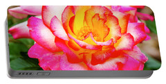 Garden Rose Beauty Portable Battery Charger