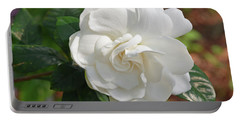 Gardenia Blossom Portable Battery Charger