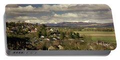 Portable Battery Charger featuring the photograph Gargunnock by RKAB Works