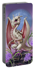 Garlic Dragon Portable Battery Charger by Stanley Morrison