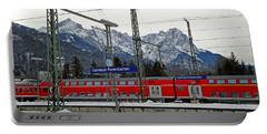 Garmisch-partenkirchen In Winter Portable Battery Charger