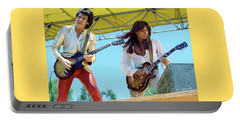 Gary Moore And Scott Gorham Of Thin Lizzy At Day On The Green 4th Of July 1979 - New Unreleased Portable Battery Charger