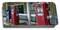 Portable Battery Charger featuring the photograph Gas And Mail 1 by Paul Ward