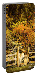 Gates In Fall Portable Battery Charger