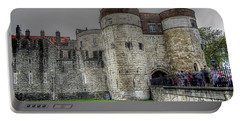 Gates To The Tower Of London Portable Battery Charger