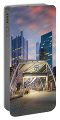 Gateway Station At Pittsburgh  Portable Battery Charger