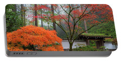 Gateway To Portland Japanese Garden Portable Battery Charger