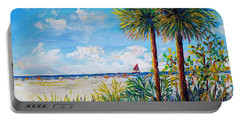 Gateway To Siesta Key Beach  Portable Battery Charger