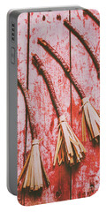Gathering Of Evil Witches Still Life Portable Battery Charger by Jorgo Photography - Wall Art Gallery