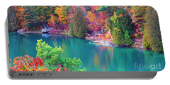 Gatineau Park Tour Portable Battery Charger by Charline Xia
