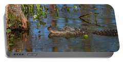 Gator In Cypress Lake 3 Portable Battery Charger