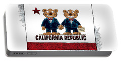 Gay Marriage In California Portable Battery Charger