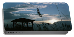 Gazebo In The Dunes Portable Battery Charger
