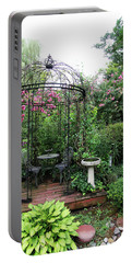 Gazebo In The Summer Portable Battery Charger