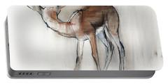 Gazelle Fawn  Arabian Gazelle Portable Battery Charger
