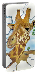 Gazing Giraffe Portable Battery Charger