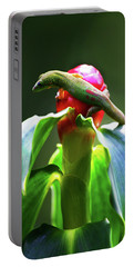 Portable Battery Charger featuring the photograph Gecko #3 by Anthony Jones