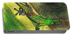 Gecko On The Green Portable Battery Charger