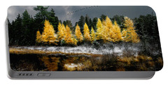 Geese Over Tamarack Portable Battery Charger