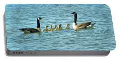 Geese Proud Parents Portable Battery Charger