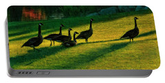 Geese The Perfect Pattern Portable Battery Charger