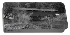 Geiger Covered Bridge B/w Portable Battery Charger