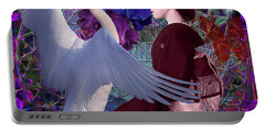 Geisha Swan Dance Portable Battery Charger