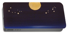 Gemini And Leo Portable Battery Charger by Alys Caviness-Gober