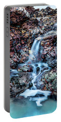 Portable Battery Charger featuring the photograph Gemstone Falls by Az Jackson