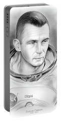 Astronaut Gene Cernan Portable Battery Charger