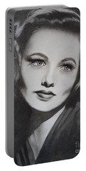 Gene Tierney  Portable Battery Charger