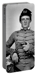 General Custer At West Point Ca 1859 Portable Battery Charger