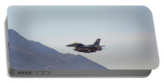 General Dynamics F-16 Wa 839 - Nellis Afb Portable Battery Charger