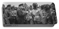 General Eisenhower On D-day  Portable Battery Charger