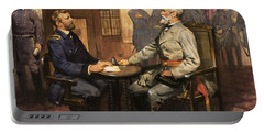 General Grant Meets Robert E Lee  Portable Battery Charger