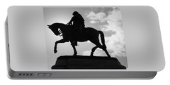 General P G T Beauregard Statue Portable Battery Charger by Deborah Lacoste