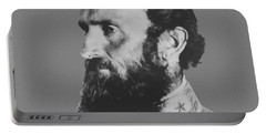 General Stonewall Jackson Profile Portable Battery Charger