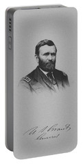 General Ulysses Grant And His Signature Portable Battery Charger