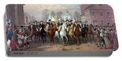General Washington Enters New York Portable Battery Charger