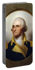 General Washington - Porthole Portrait  Portable Battery Charger