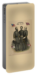 Generals Jackson Beauregard And Lee Portable Battery Charger