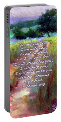 Gentle Journey With Bible Verse Portable Battery Charger